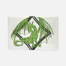 Green Dragon on Diamond Magnets