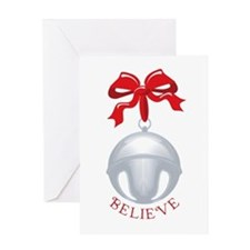 Silver Bell Greeting Card
