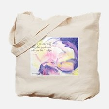 Rumi Wrapped In Morning Tote Bag