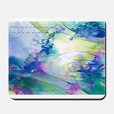 Rumi Spring Water Mousepad