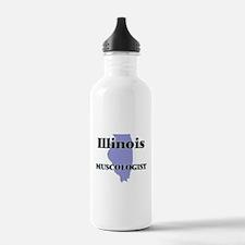 Illinois Muscologist Water Bottle