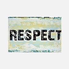 Respect Scratch Design Magnets