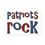 Patriots Patriot Day Rocks Mini Poster Print