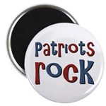 Patriots Patriot Day Rocks Magnet