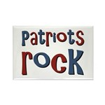 Patriots Patriot Day Rocks Rectangle Magnet (100 p