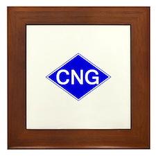 Unique Compressed natural gas Framed Tile