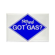 Unique Natural gas vehicle Rectangle Magnet (10 pack)