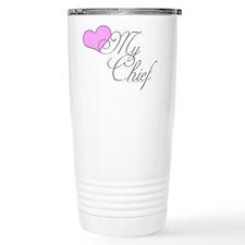 Cute Proud sailor's wife Travel Mug