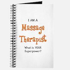 massage therapist Journal
