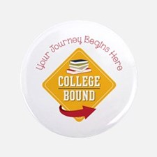 "Journey Begins 3.5"" Button (100 pack)"