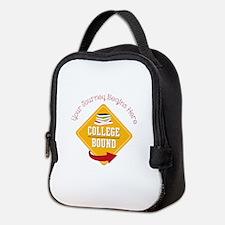 Journey Begins Neoprene Lunch Bag