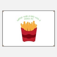 A French Fry Banner