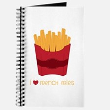 Love French Fries Journal