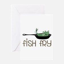 Fish Fry Greeting Cards