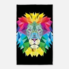 Rainbow Lion Area Rug
