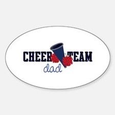 Cheer Team Dad Decal