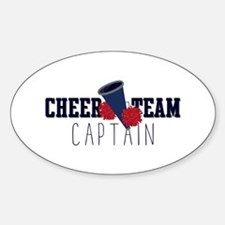 Cheer Team Captain Decal