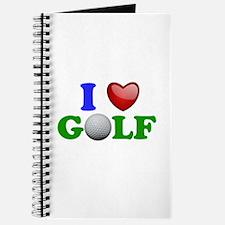 I Heart Golf Journal