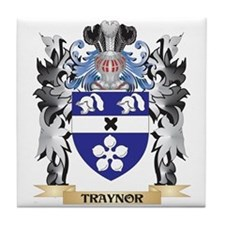 Traynor Coat of Arms - Family Crest Tile Coaster
