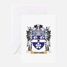 Traynor Coat of Arms - Family Crest Greeting Cards