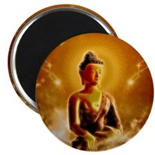 Buddha in the sky Magnets