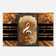Awesome clef Postcards (Package of 8)