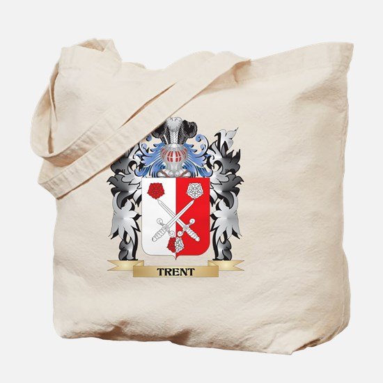Trent Coat of Arms - Family Crest Tote Bag
