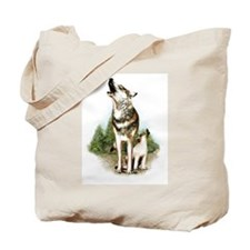 Three Wolves Tote Bag