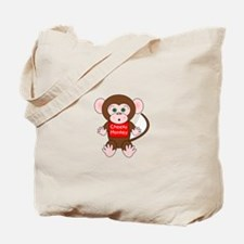 Cheeky Monkey Tote Bag