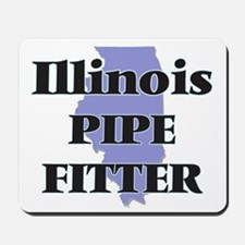 Illinois Pipe Fitter Mousepad