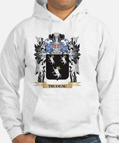 Trudeau Coat of Arms - Family Cr Hoodie