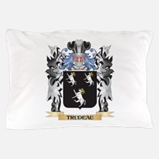 Trudeau Coat of Arms - Family Crest Pillow Case