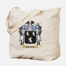 Trudeau Coat of Arms - Family Crest Tote Bag