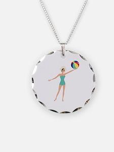 Beach Woman Necklace