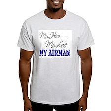 My Hero My Love My Airman T-Shirt