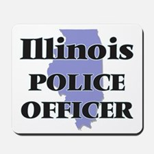 Illinois Police Officer Mousepad