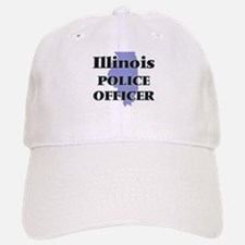 Illinois Police Officer Baseball Baseball Cap