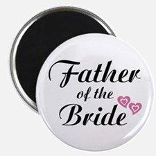 "Father of the Bride 2.25"" Magnet (100 pack)"