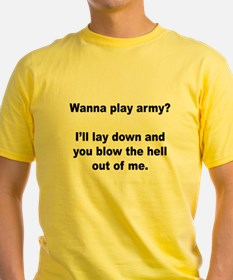 Wanna play army? T