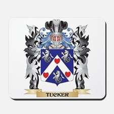 Tucker Coat of Arms - Family Crest Mousepad
