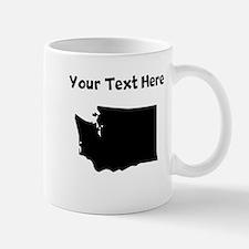 Custom Washington Silhouette Mugs