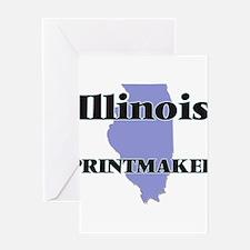 Illinois Printmaker Greeting Cards