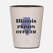 Illinois Prison Officer Shot Glass