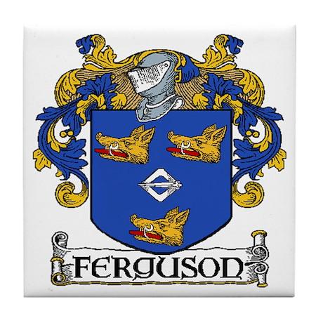 Ferguson Coat of Arms Tile Coaster