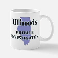 Illinois Private Investigator Mugs
