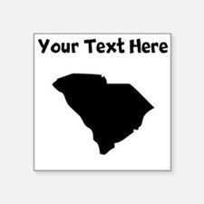 Custom South Carolina Silhouette Sticker