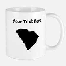 Custom South Carolina Silhouette Mugs