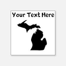 Custom Michigan Silhouette Sticker
