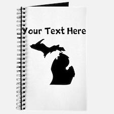 Custom Michigan Silhouette Journal