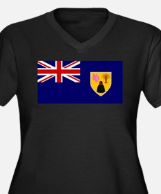 Turks and Caicos Islands Plus Size T-Shirt